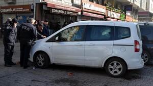 Araçta sızan vatandaş tüm ekipleri harekete geçirdi