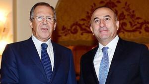Çavuşoğlu ile Lavrov ateşkesi görüştü