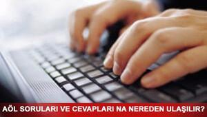 AÖL sınavı soruları ve cevapları yayınlandı mı AÖL 7-8 Ocak sınav sonuçları ne zaman açıklanacak