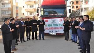 Nizipten Halepe yardım