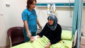 Osmaniyede kanser hastalarına kemoterapi