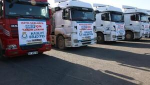 Haliliye Belediyesinden Halepe 6 TIR yardım