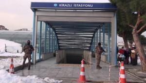 Kirazlı Metro İstasyonunda Reina saldırganı alarmı