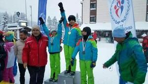 Ilgazda Alp Disiplini ve Kayaklı Koşu heyecanı