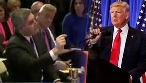 Trumptan muhabire tepki Sorusunu cevaplamadı