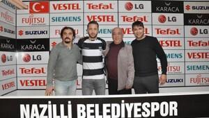 Nazilli Belediyespor Tuna Üzümcü ile imzaladı