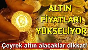 Altın fiyatlarında son durum ne 12 Ocak çeyrek altın fiyatları