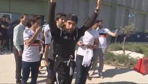 Olcay Şahan Beşiktaşa veda etti