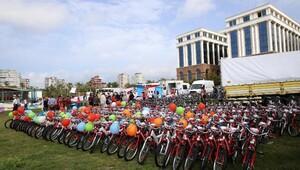 Sağlık Bakanlığı 320 bin bisiklet dağıttı