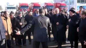 Vali Azizoğlu törende sobalı çadıra karşı çıktı