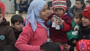 Çorumdan Suriyelilere gıda yardımı
