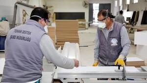 Büyükşehir kendi mobilyasını üretiyor