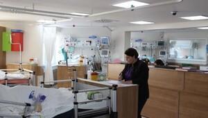 Zonguldakta yoğun bakım yatak sayısı arttı