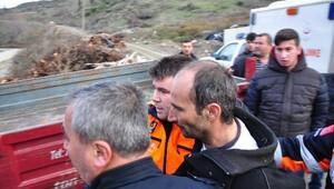 İznik'te 2 gündür kayıp olan çiftçi bitkin halde bulundu