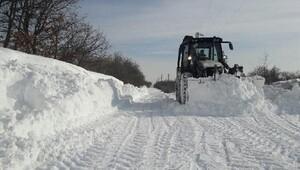 Trakyada kar, yerini buzlanmaya bıraktı (4)