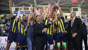 Kupa Voleyde Fenerbahçe şampiyon oldu