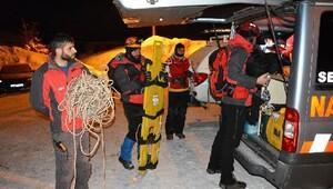 Uludağda dün kaybolan Büşraya ekipler bu sabah ulaştı