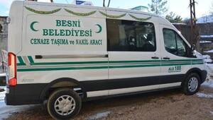 Besni Belediyesine yeni cenaze aracı