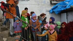 Suriyeli sığınmacılara dayanışma ziyareti
