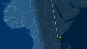 panik atak hastası yolcu uçak döndürdü