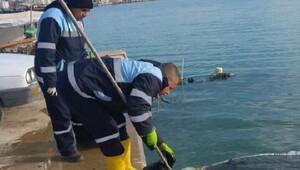 Karataş limanı temizlendi