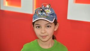 Ortaokul öğrencisinden görme engelliler için şapka