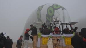 Pamukkalede bu yıl tekrar yapılması amaçlanan balon seferine sis engeli