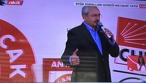 RTÜKten AKİT TVye Kılıçdaroğlu cezası
