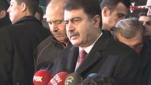İstanbul Valisi Vasip Şahin olay yerinde