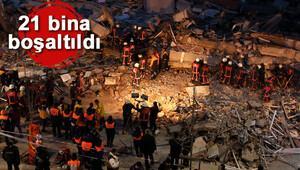 Zeytinburnunda bina çöktü... 2 ölü, 17 yaralı var