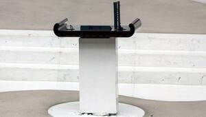 TBMM kürsüsündeki 15 bin Euro'luk mikrofonun peşine özel ekipler düştü