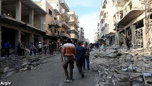İdlibde pazar yerine saldırı