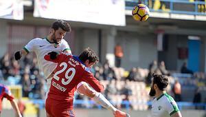 Kardemir Karabükspor-Akhisar Belediyespor: 1-0
