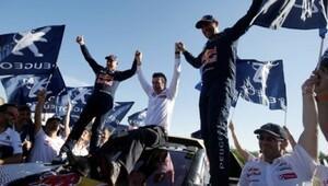 Dakarda şampiyon Stephane Peterhansel