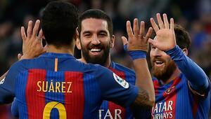 Arda sahneye çıktı Barcelona şov yaptı Messi ilki yaşadı...