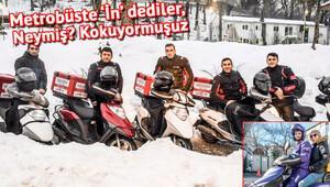 Egzos, çamur ve karla boğuşan sert adamlar