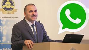 BTK Başkanından çok önemli WhatsApp uyarısı