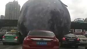 Çin'den 'bu kadarı da olmaz' dedirten görüntüler