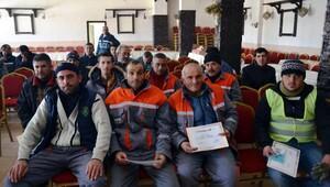 Bünyan Belediyesi personeline, İş Sağlığı ve Güvenliği eğitimi verildi