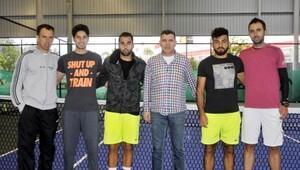 Tenis Milli Takımı Antalyada kampa girdi
