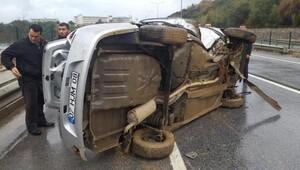 Alanyada kaza: 1 yaralı
