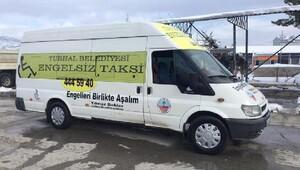 Turhal Belediyesinden Engelsiz Taksi hizmeti