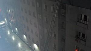 Kocasinan Belediyesinin çatısında yangın