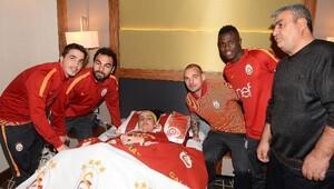 Galatasaraya sürpriz ziyaretçi