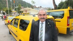 Marmariste taksiciler eylem hazırlığında