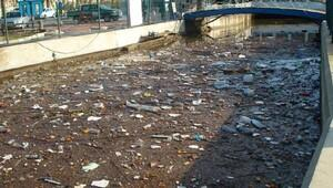 Teos Marinada kanal temizliği