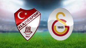 Elazığspor Galatasaray Türkiye Kupası maçı bu akşam saat kaçta hangi kanalda - İki takımın ilk 11leri belli oldu