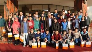 Ağrılı öğrenciler Antalyayada