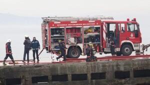 Ek fotoğraflar // İskeleye bağlı gemide yangın