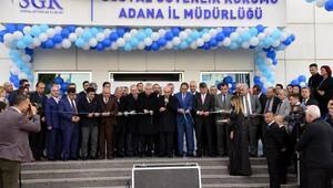 SGK binası, Cumhurbaşkanının sinevizyon bağlantısı ile açıldı